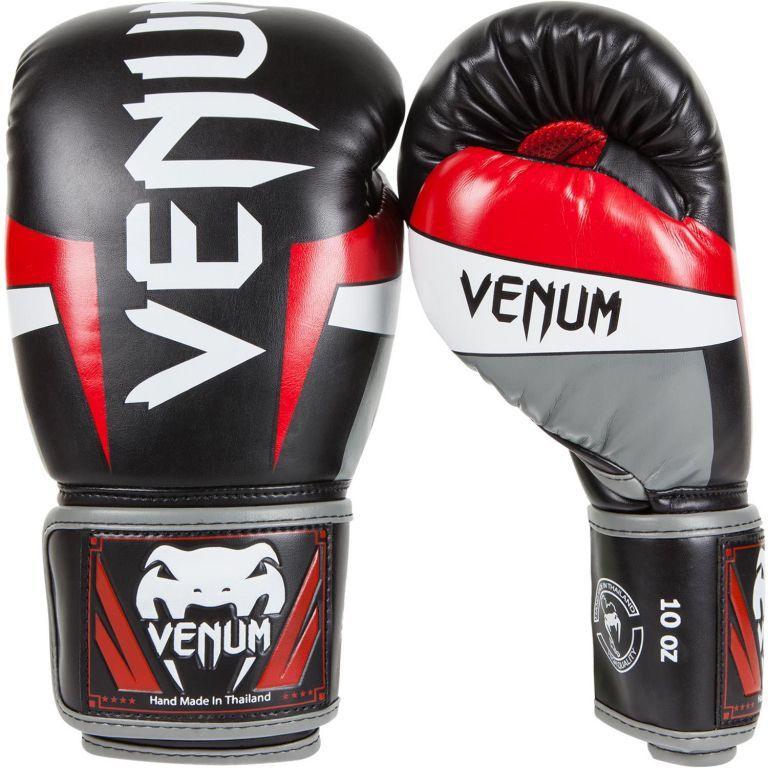 Перчатки Venum Elite Boxing Gloves Black-10