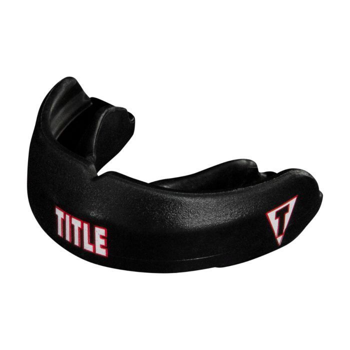 Капа для брекетов TITLE Boxing Max Braces Mouth Guard-черный