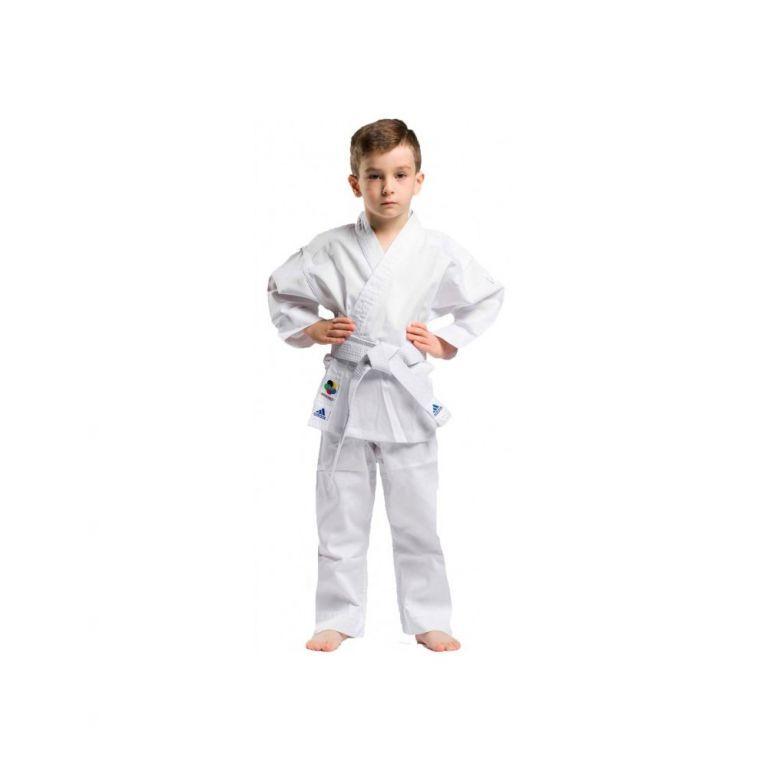 Кимоно для карате Adidas Evolution (белый, K200EK)-110-120