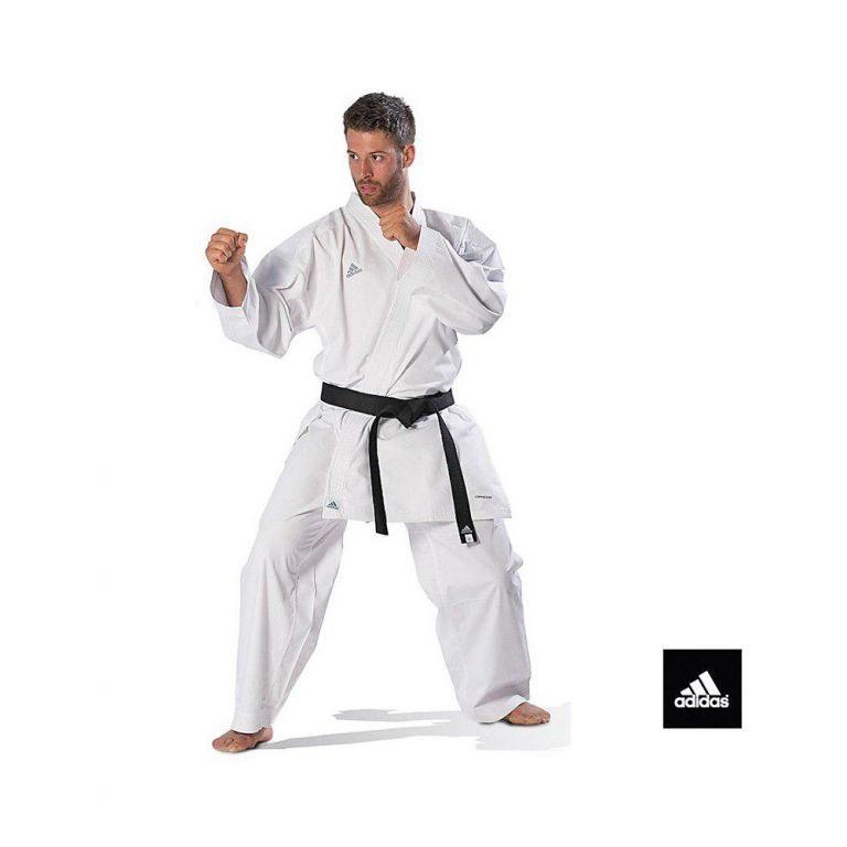 Кимоно для карате Adidas Kumite Fighter (белый, K220KF)-150
