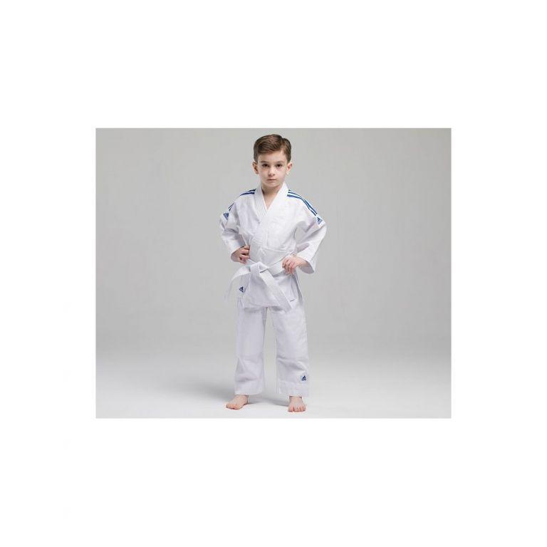 Кимоно для дзюдо Adidas Evolution (белое, J250EK)-110-120