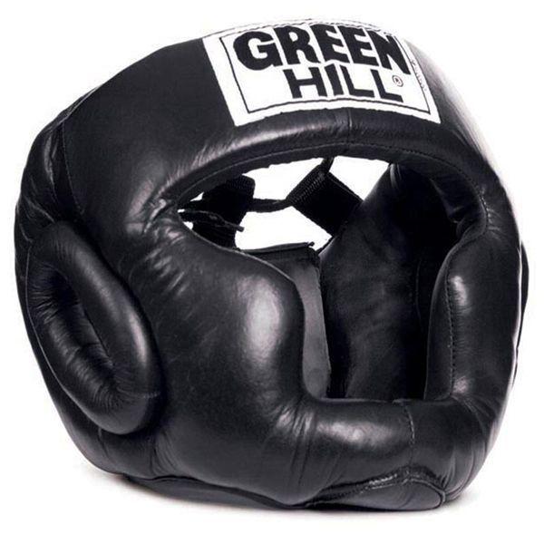 Шлем боксерский ''SUPER'' Green Hill-S
