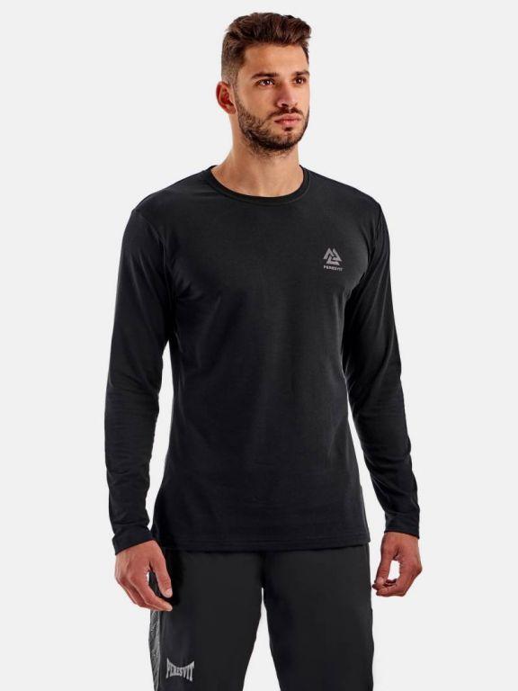Кофта Peresvit Dynamic Cotton Long Sleeve T-shirt Phantom Black-S