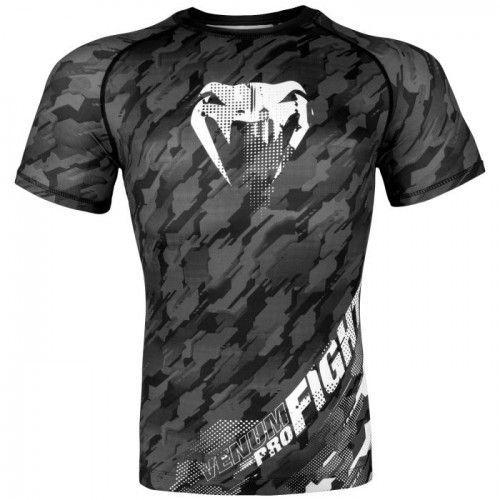 Рашгард Venum Tecmo Rashguard Short Sleeves Dark Grey-S