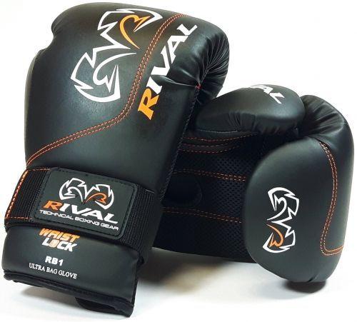 Боксерские перчатки Rival RB1 Ultra Bag Gloves Black-8