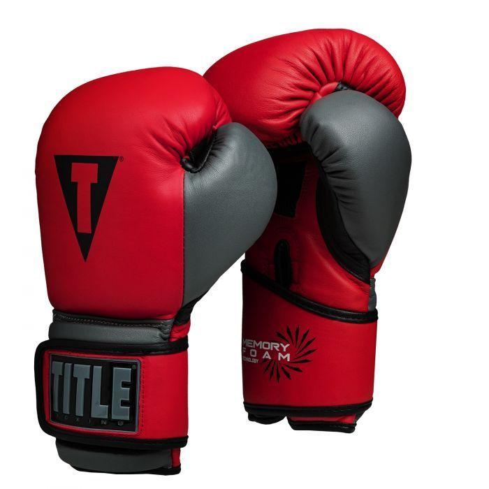 Тренировочные перчатки TITLE Memory Foam Tech-14