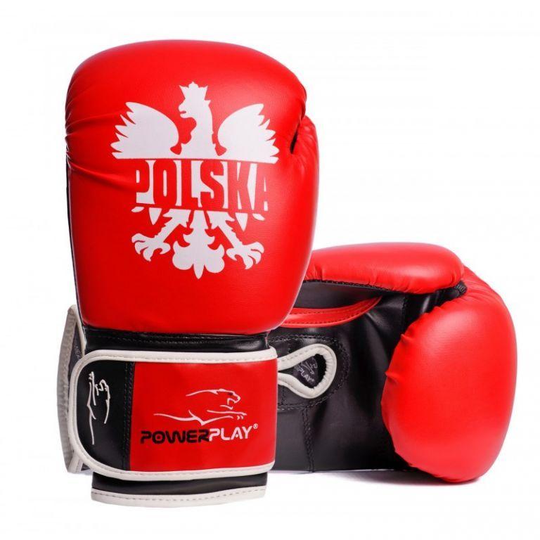Боксерские перчатки PowerPlay 3021-1-8