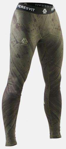 Компрессионные штаны Peresvit Immortal 2.0 Military Green MMA Leggings-S