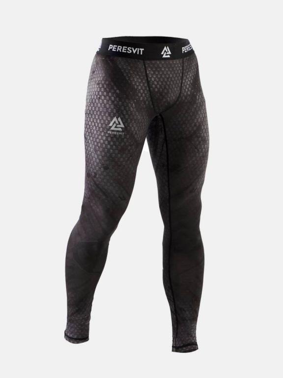 Компрессионные штаны Peresvit Immortal 2.0 Black Rain MMA Leggings-S