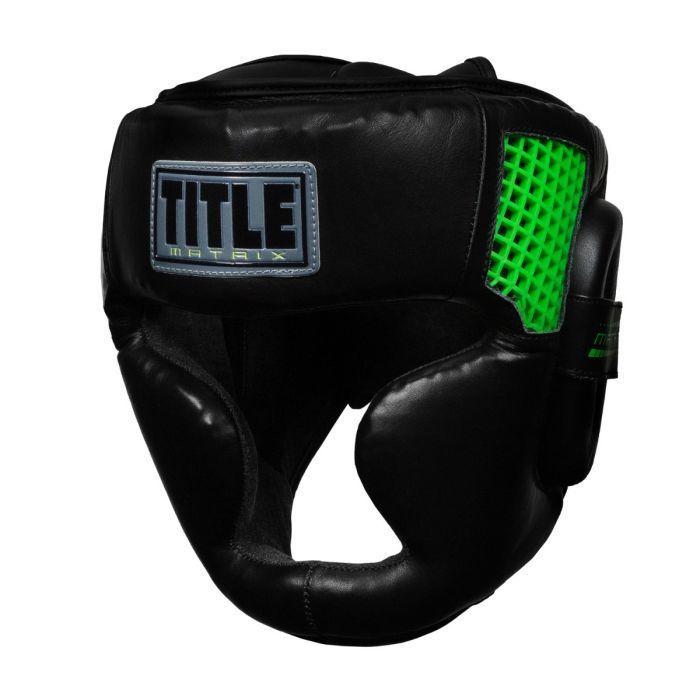 Шлем TITLE Matrix Full Face Headgear-M