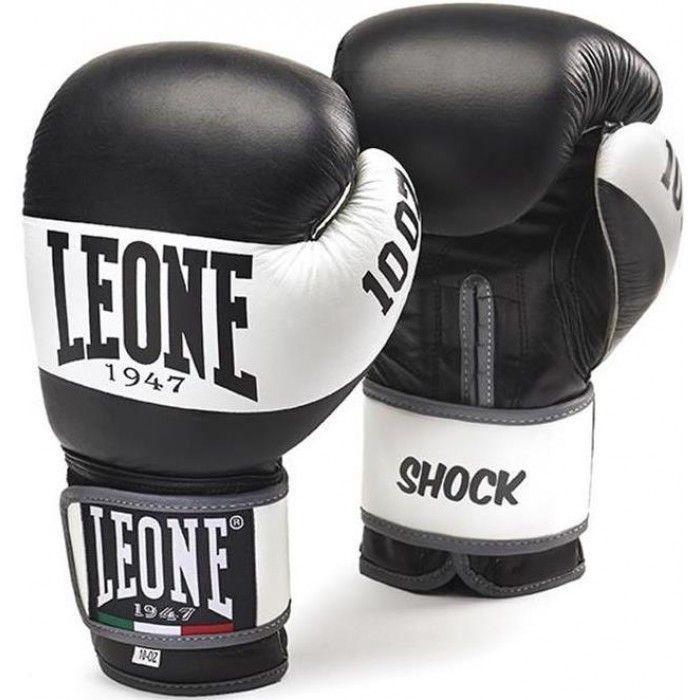 Боксерские перчатки Leone Shock Black-10