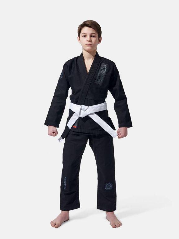 Детское кимоно Peresvit Kid's Flawless BJJ Gi Black-M0