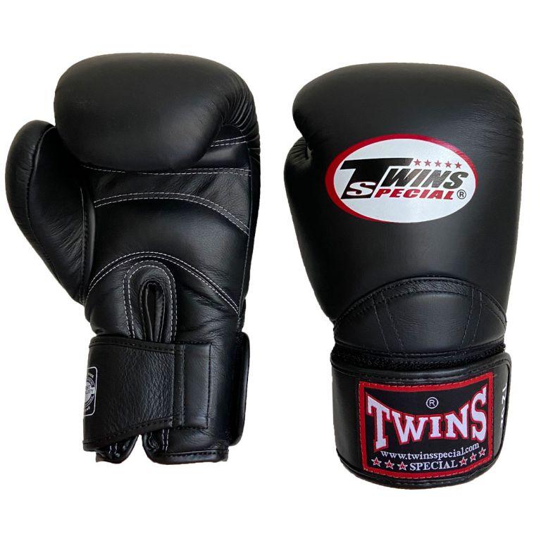 Перчатки для бокса Twins BGVL11 Черные 10 унций