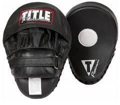 Боксерские лапы TITLE Platinum Punch Mitts 2.0-19 х 25
