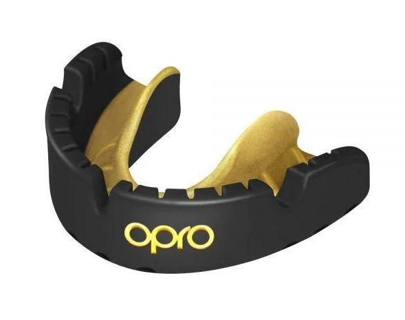 Капа для брекетов Opro Gold Braces-черно-золотой