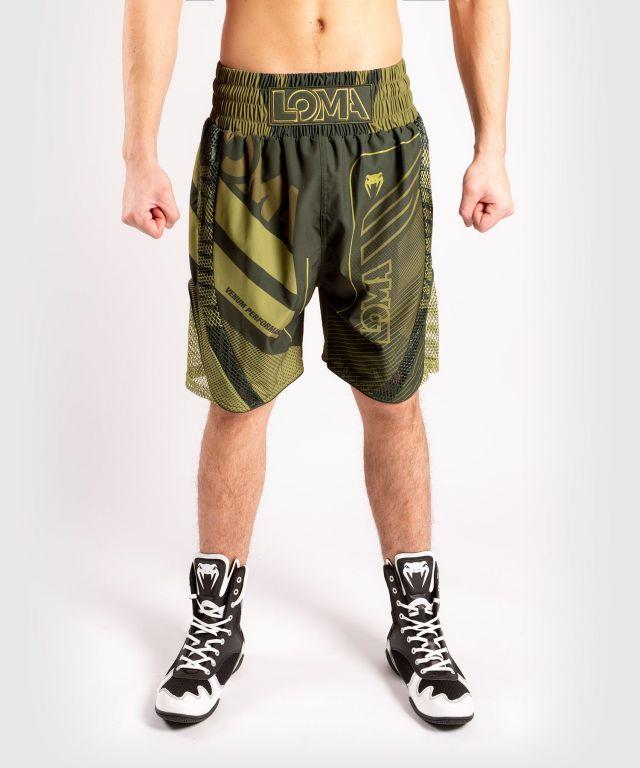Шорты для бокса Venum Loma Commando Boxing Short Khaki-XS