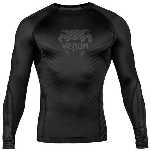 Рашгард Venum Plasma Rashguard Long Sleeves Black-S