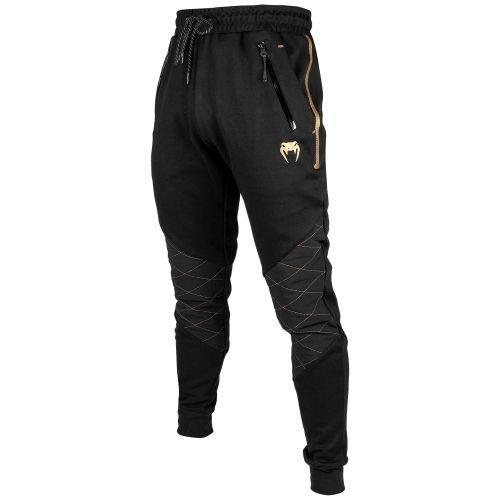 Спортивные штаны Venum Laser Evo Joggings Black Gold-XS