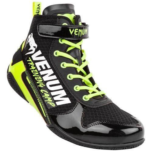 Боксерки Venum Giant Low VTC 2 Edition Boxing Shoes Black Neo Yellow-40