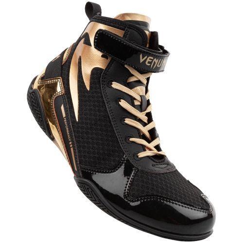 Боксерки Venum Giant Low Boxing Shoes Black Gold-40