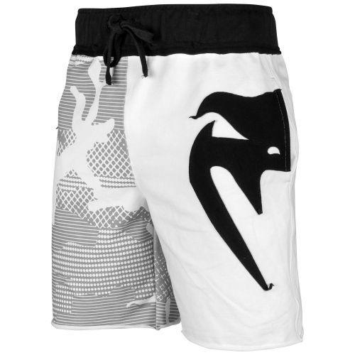 Шорты Venum Assault Cotton Shorts White Black-XS