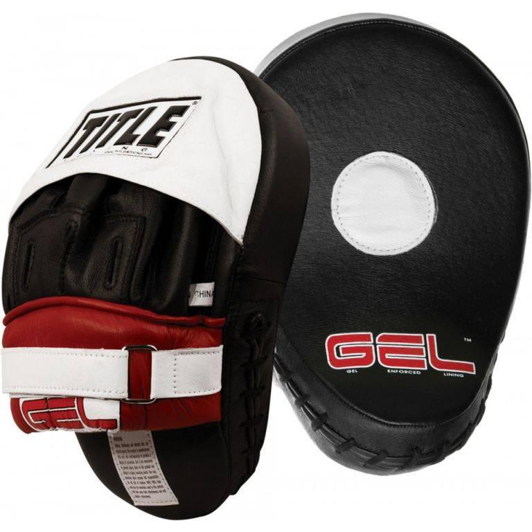 Лапы для бокса TITLE GEL Contoured Punch Mitts-24 х 18