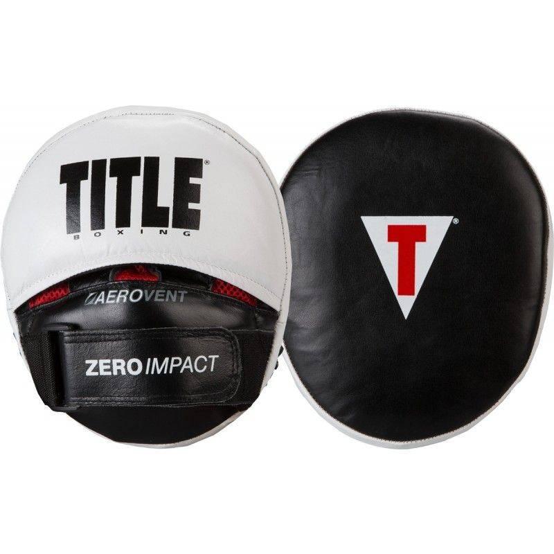 Боксерские лапы TITLE Zero Impact
