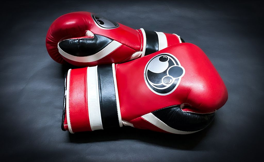 Перчатки для бокса Grant Pro Velcro Traning Boxing Gloves Black/Red-предзаказ