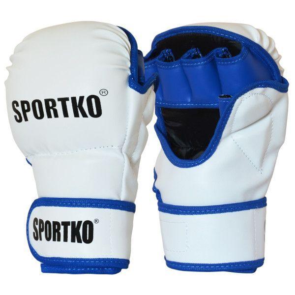 Перчатки для MMA с открытыми пальцами SPORTKO ПД-7-S