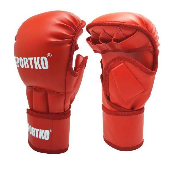 Перчатки для MMA с открытыми пальцами SPORTKO ПД-8-L/XL