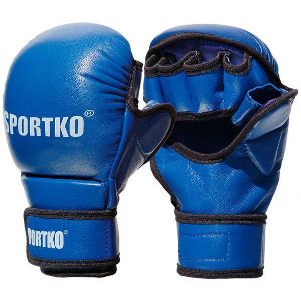 Перчатки с открытыми пальцами SPORTKO ПК-7-S