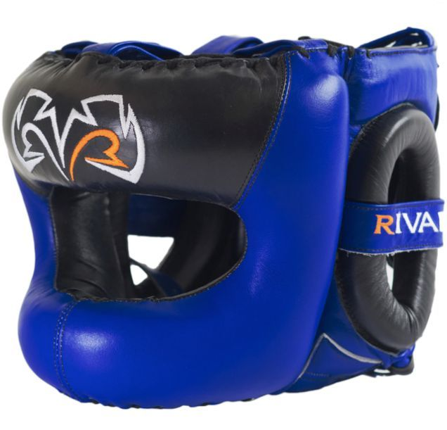 Бампер Rival Boxing Guerrero Facesaver Headgear Blue-S/M