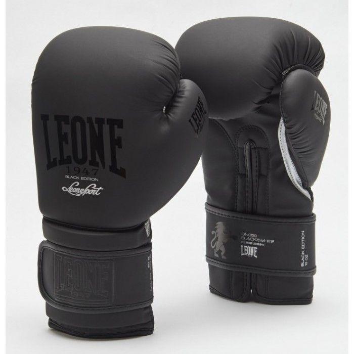 Боксерские перчатки Leone Mono Black-10