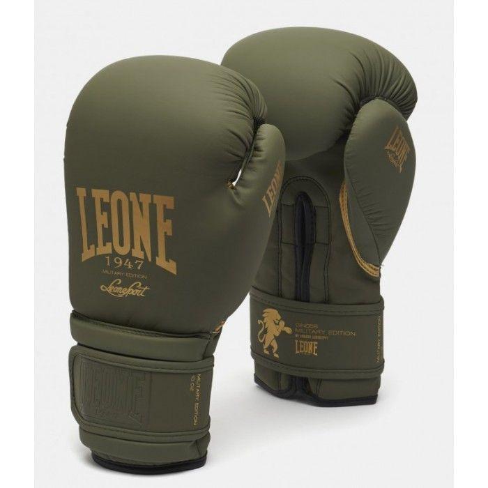 Боксерские перчатки Leone Mono Military-10