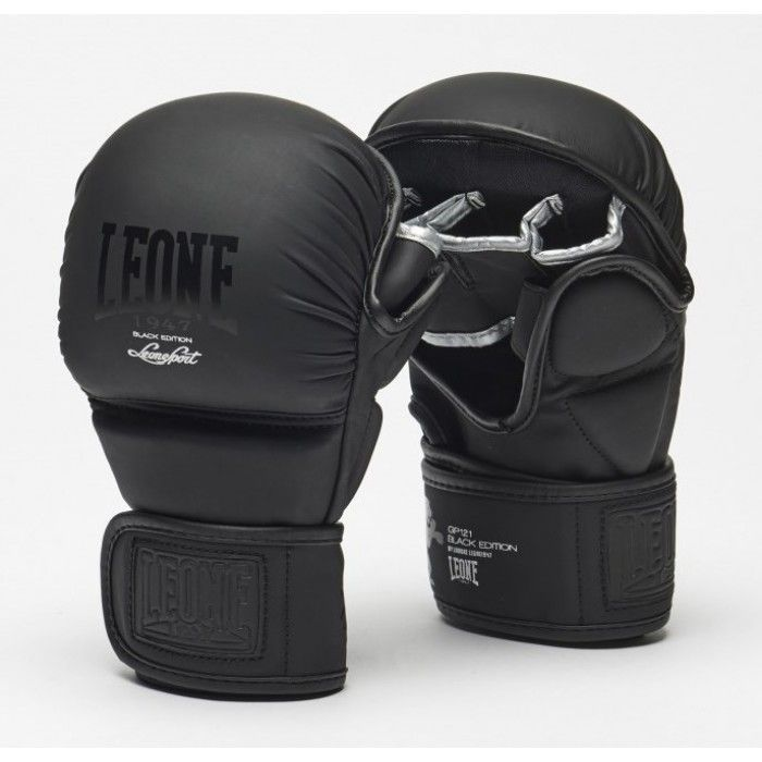 Перчатки MMA Leone Black-M