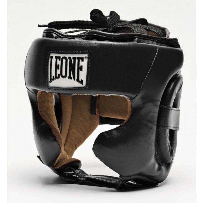 Боксерский шлем Leone Training Black-M