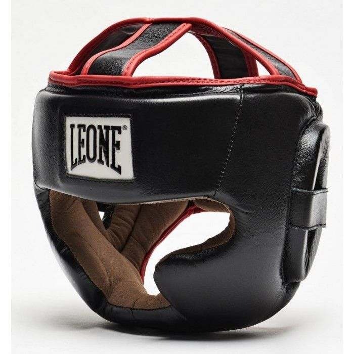 Боксерский шлем Leone Full Cover Black-S