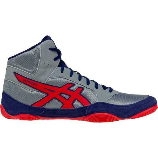 Борцовки ASICS SNAPDOWN 2 STONE GREY/CLASSIC RED (J703Y-020)-35