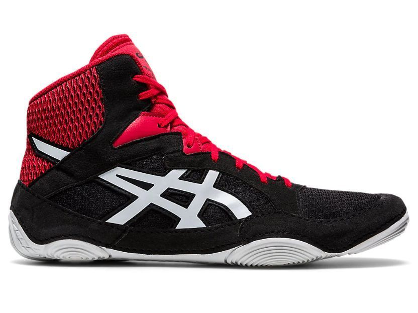 Борцовки ASICS SNAPDOWN 3 BLACK/WHITE (1081A030-001)-35