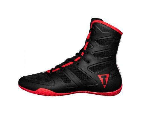 Боксерки TITLE Boxing Total Balance Boxing Shoes Black Red-40