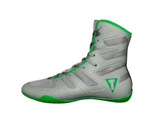 Боксерки TITLE Boxing Total Balance Boxing Shoes Grey Green-41