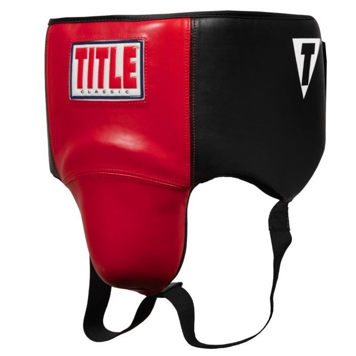 Бандаж для паха TITLE Boxing Lace-Tie No Foul Protector-S