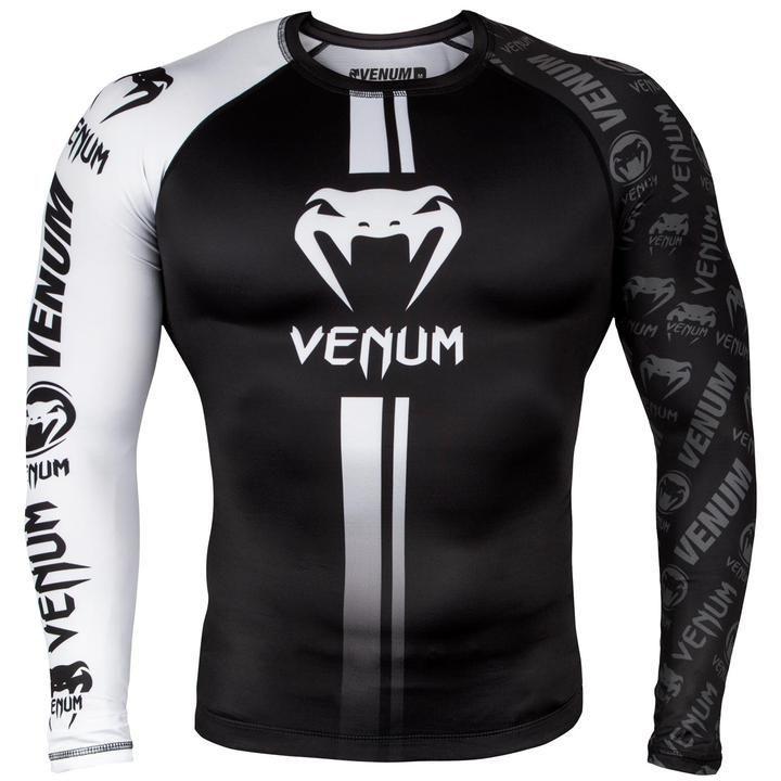 Рашгард Venum Logos Rashguard Long Sleeves-S