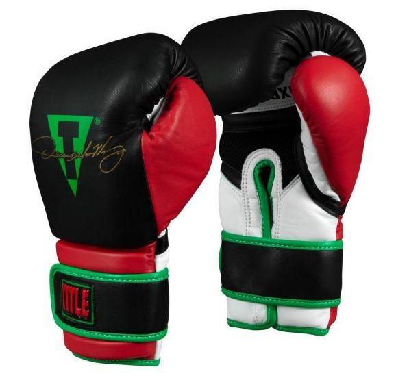 Боксерские перчатки TITLE Oscar De La Hoya Signature Gloves-14