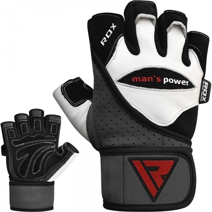 Перчатки для зала RDX Pro Lift Gel-S
