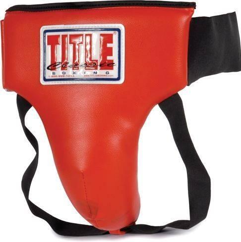 Защитный бандаж для паха TITLE Classic Groin Protector Plus