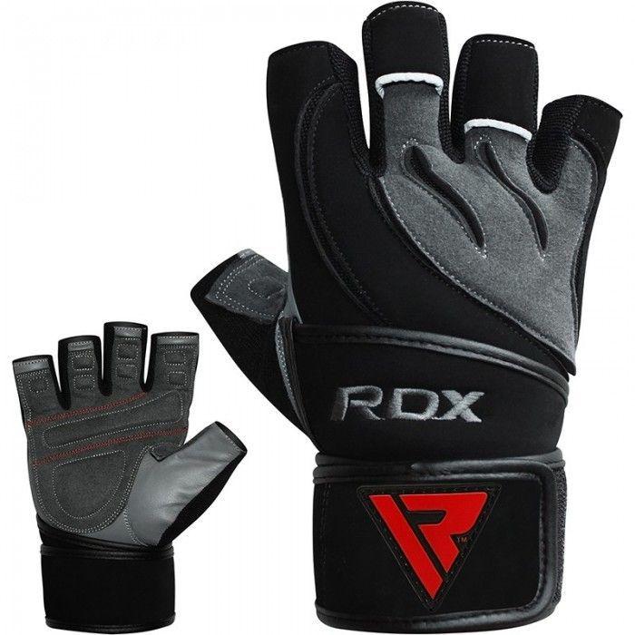 Перчатки для фитнеса RDX Pro Lift Black-S