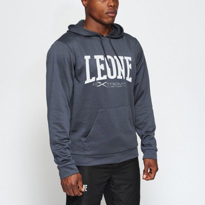 Толстовка с капюшоном Leone Logo Gray-S