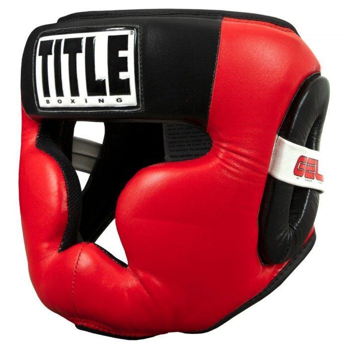 Шлем для бокса TITLE GEL Radiate Full Training Headgear-S/M