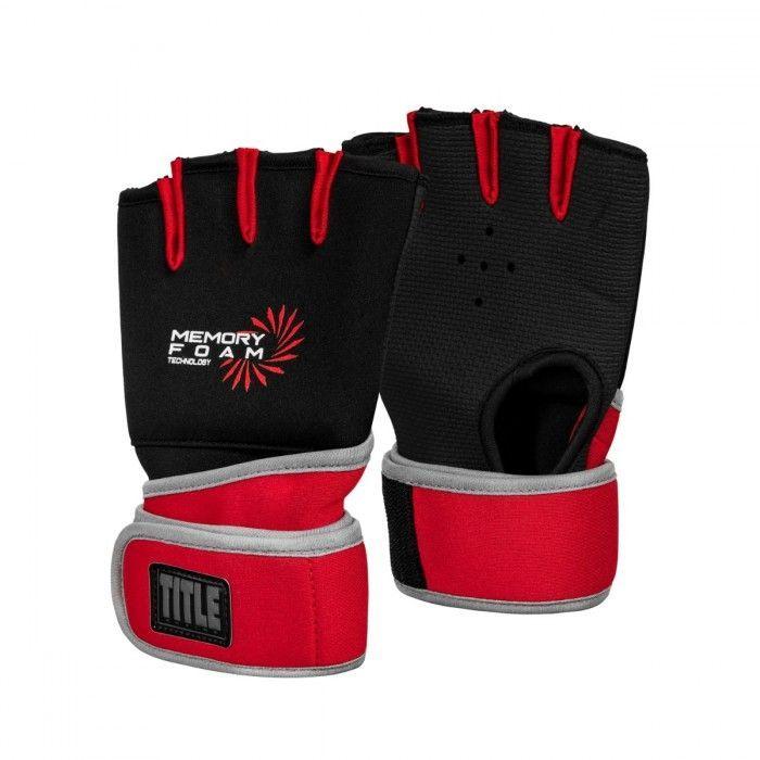 Бинт-перчатка TITLE Boxing Memory Foam Quick Hand Wraps-S